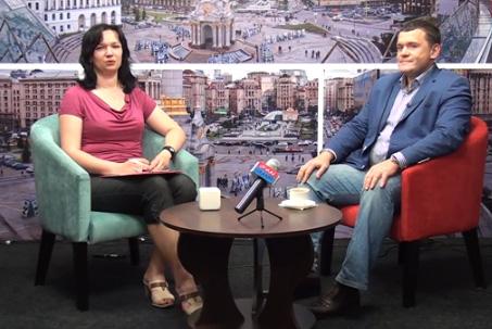 Олег Торгало — интервью арабскому телевидению