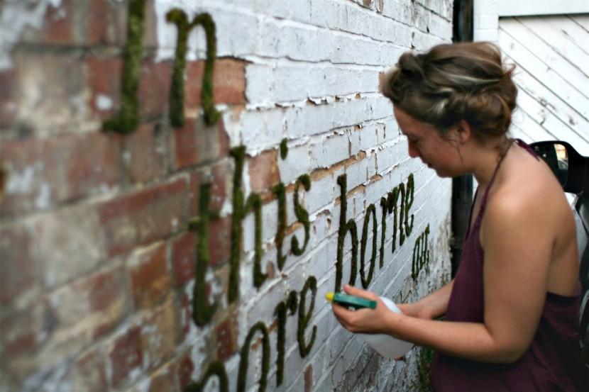 Прикраса міст: живі графіті Анни Гарфорд