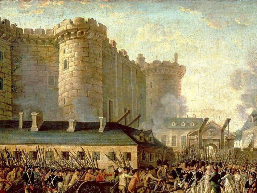 14 июля. День взятия Бастилии