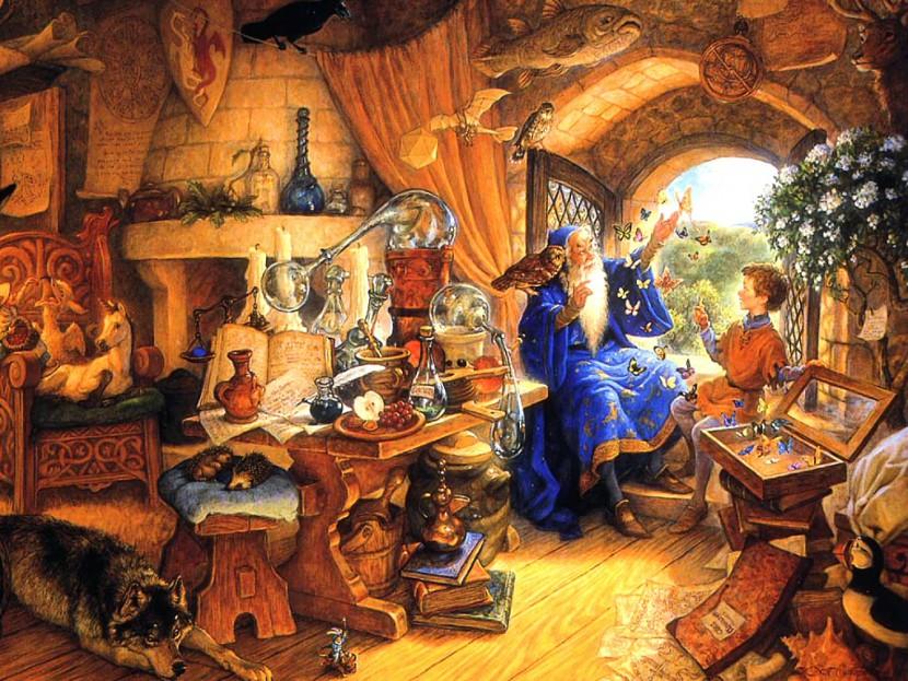 Притча: Волшебник и совесть