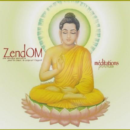 Музыкальный альбом ZendOm «Profondes»