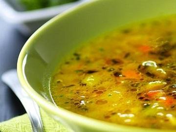 Суп из кабачков с болгарским перцем