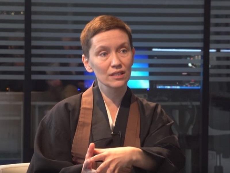 Дзен-монахиня Олександра Мигач