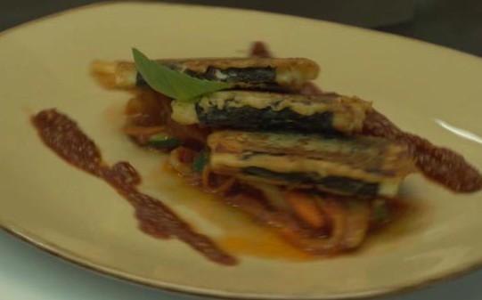Здоровая кухня: панир с жульеном из овощей