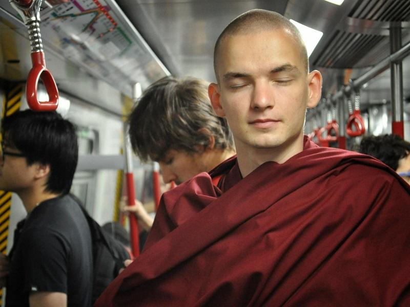 Буддийский монах Лобсанг Тенпа