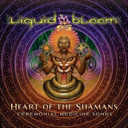 Музыкальный альбом Liquid Bloom «Heart of the Shaman»