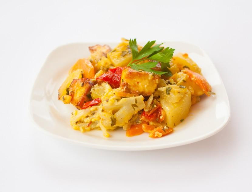 Сабджи – рагу из тушеных овощей