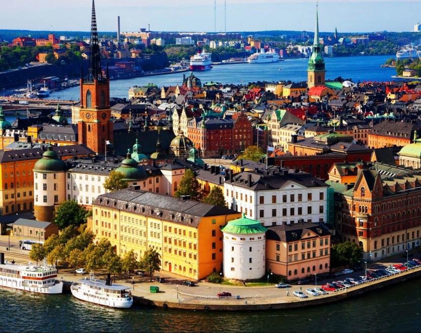 Стокгольм: город Астрид Линдгрен и Карлсона