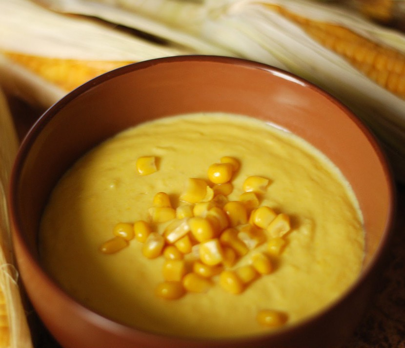 Суп из кукурузы