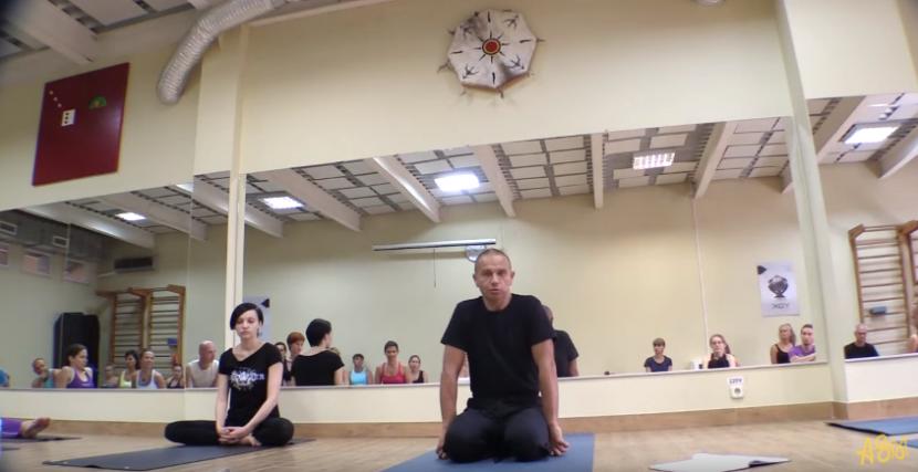 Андрей Сидерский | Фрагменты тренировки «Йога-нидра»