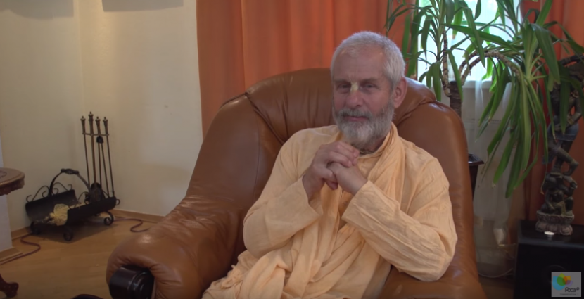 Лекция Бхактиведанта Неми Махараджа в Киеве