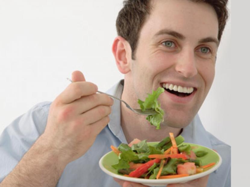 Во время еды держите мысли чистыми