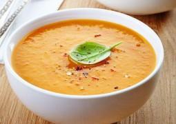Прянный морковный суп с имбирем за 5 минут