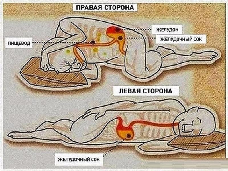6 преимуществ сна на левом боку