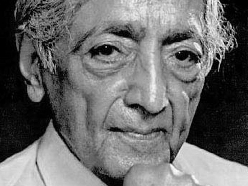 Джидду Кришнамурти — О природе Любви
