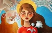 Художница Элина Гордеева: Идеальная йога