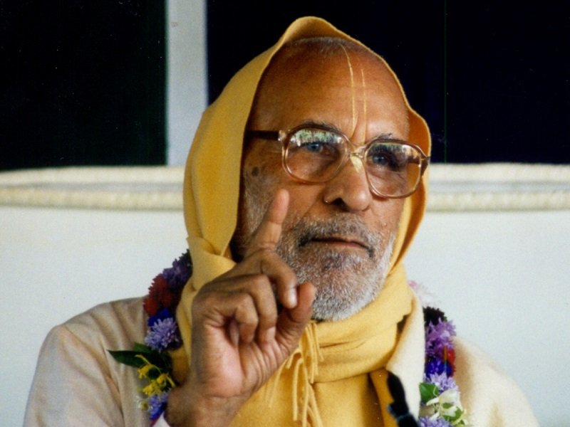 Краткая биография Шрилы Бхактиведанты Нараяны Госвами Махараджа