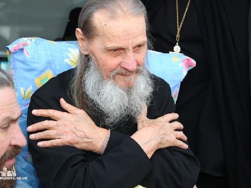 Беседа с монахом, старцем Ионой