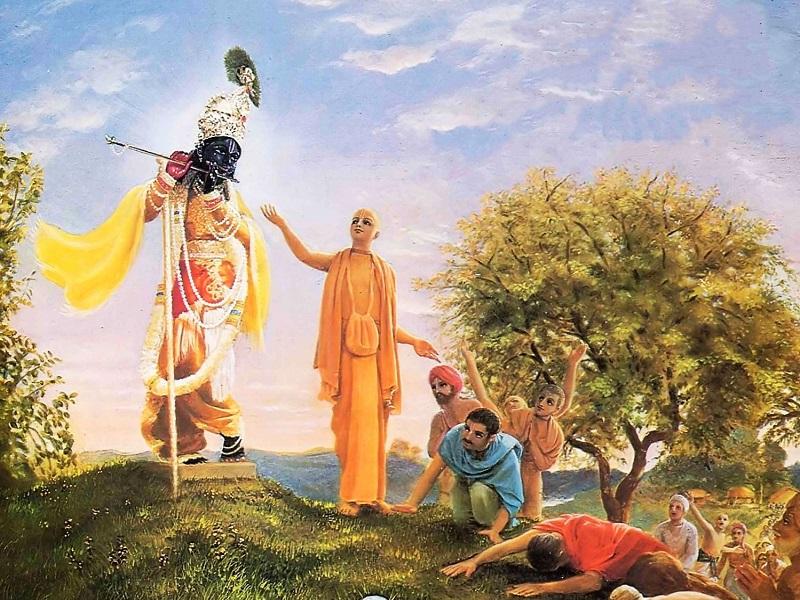 Золотая аватара Шри Чайтанья Махапрабху