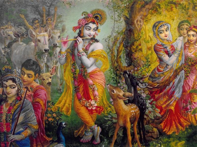 Угра-Нрисимха-дхйана. Стихи из «Шримад-Бхагаватам»