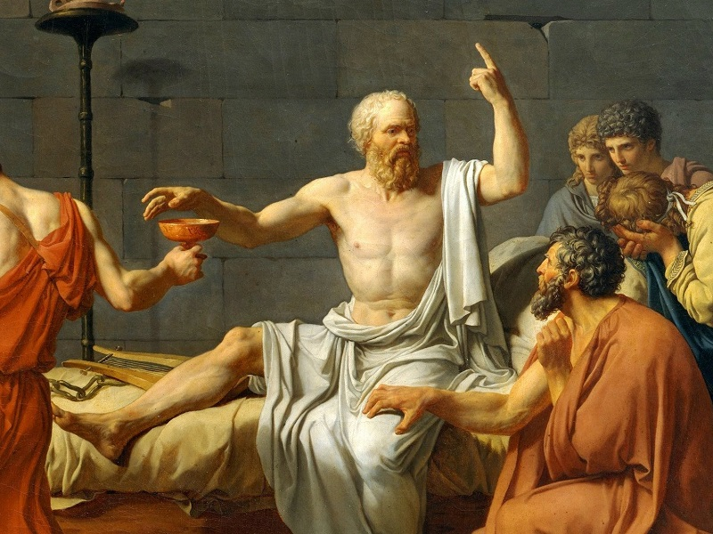 25 мудрых мыслей Сократа