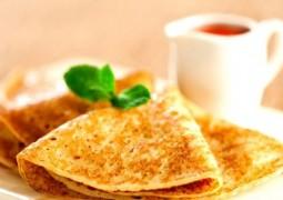 Вкусный рецепт блинов без яиц
