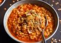 Быстрый суп из красной чечевицы