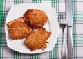 Картофельные котлеты с грибами