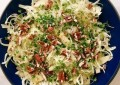 Салат с фенхелем, яблоками и орехами