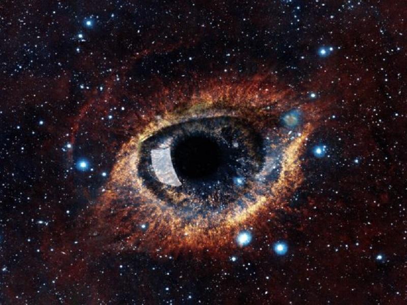 Для вхождения в измененное состояние сознания, посмотрите 10 минут в глаза другому