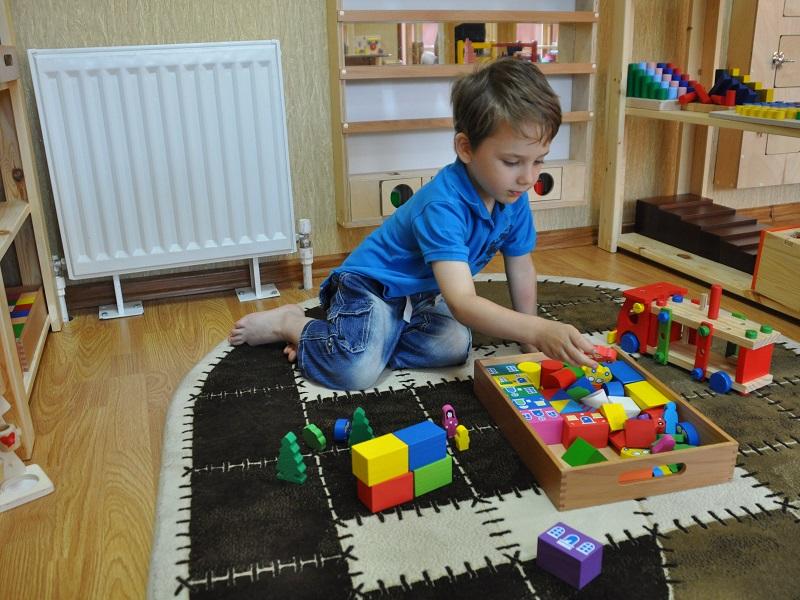 Детское пространство по методу Монтессори