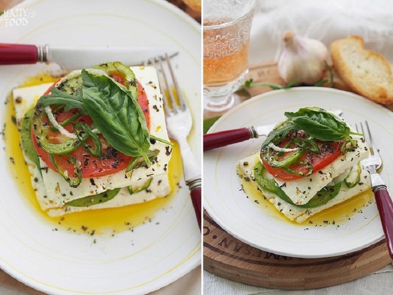 «Фета псити» — простая греческая закуска из запеченного сыра