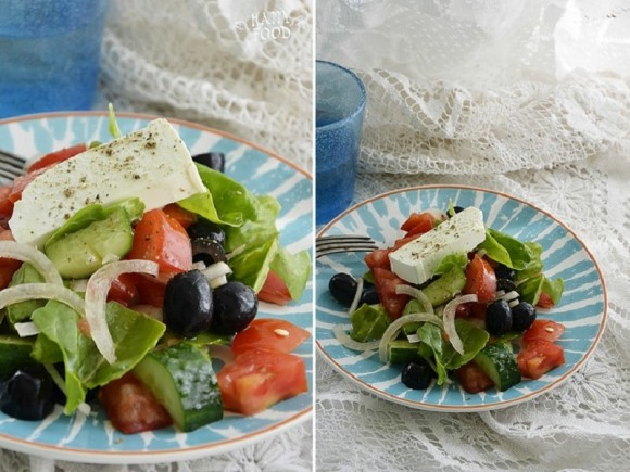 Греческий салат (вариация)