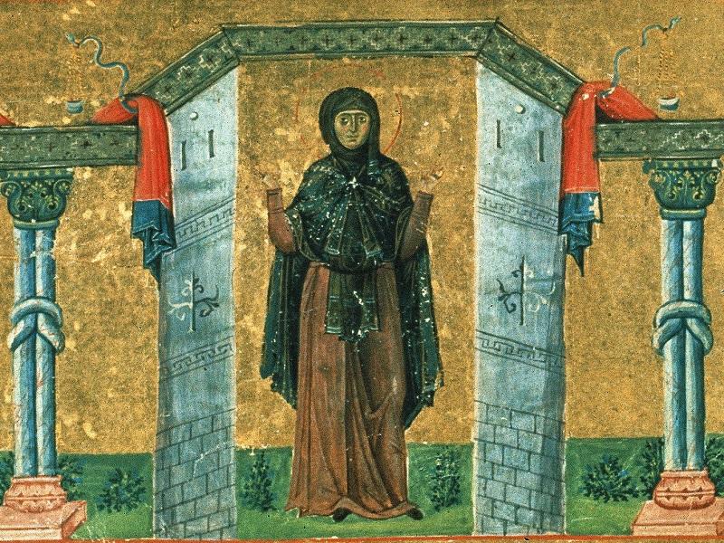 Рассказы о святых. Мелания Римляныня
