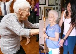 Необычное превращение: йога изменила 85-летнюю женщину до неузнаваемости