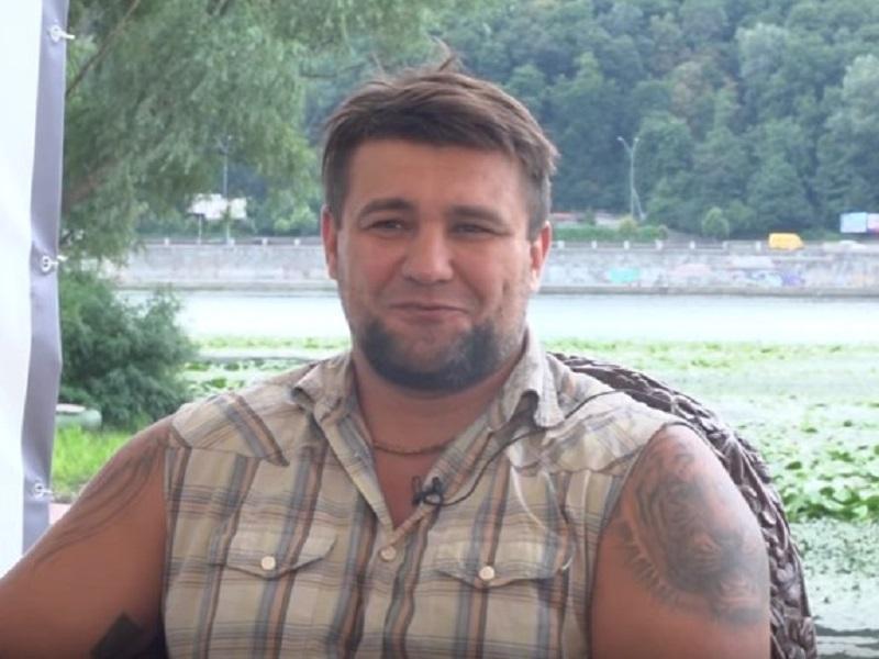 Украинский боксер-профессионал Алексей Мазыкин