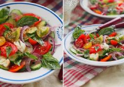 Panzanella - хлебный салат