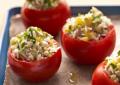 Помидоры, фаршированные рисом и овощами
