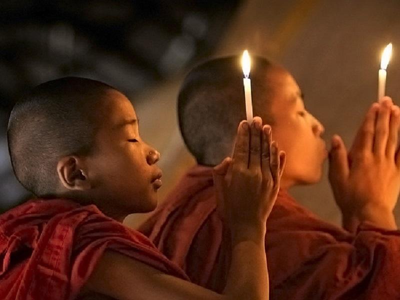 «Прибежище в Трех Драгоценностях». Открытие Буддизма