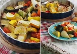 Запеченные овощи (простой рецепт)