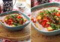 Суп с нутом и перцем