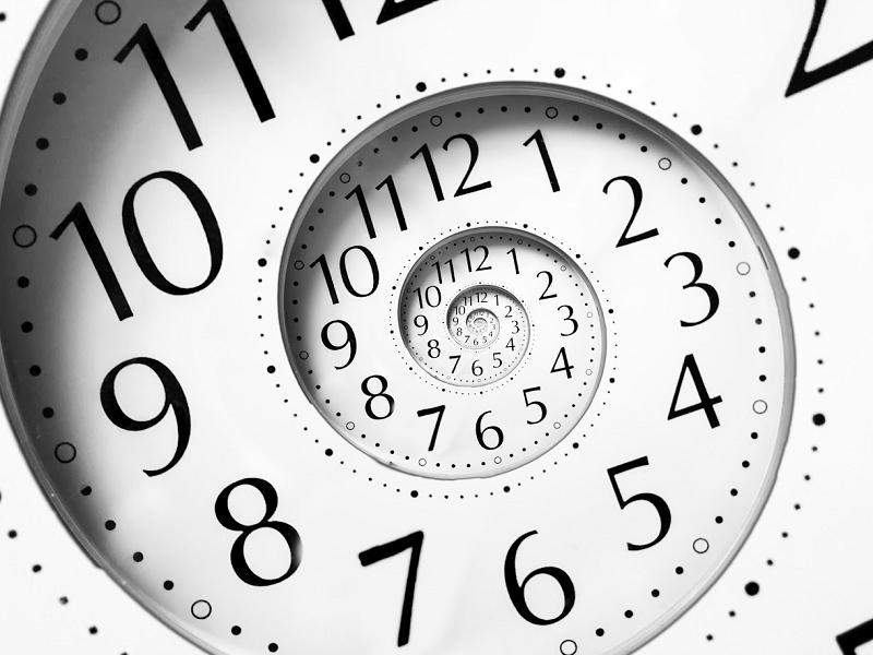 Время не линейно, время — точка (бесконечная сфера)
