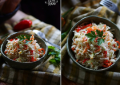 Простой салат с кольраби, перцем и морковью