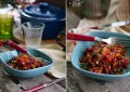 Фасоль запеченная в томатном соусе с травами