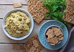 Хумус с оливками