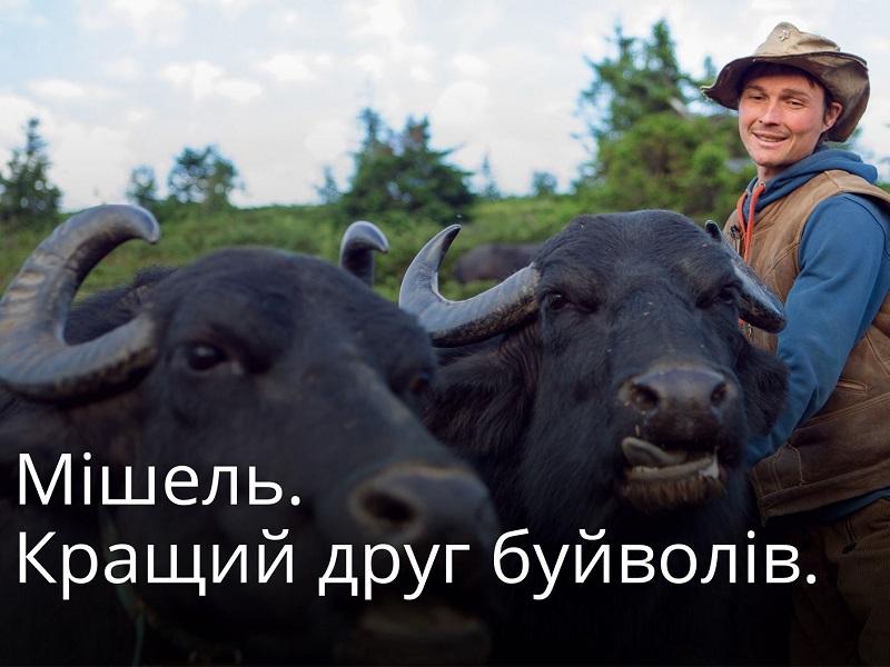 Мішель Якобі і його Карпатські буйволи · Ukraїner
