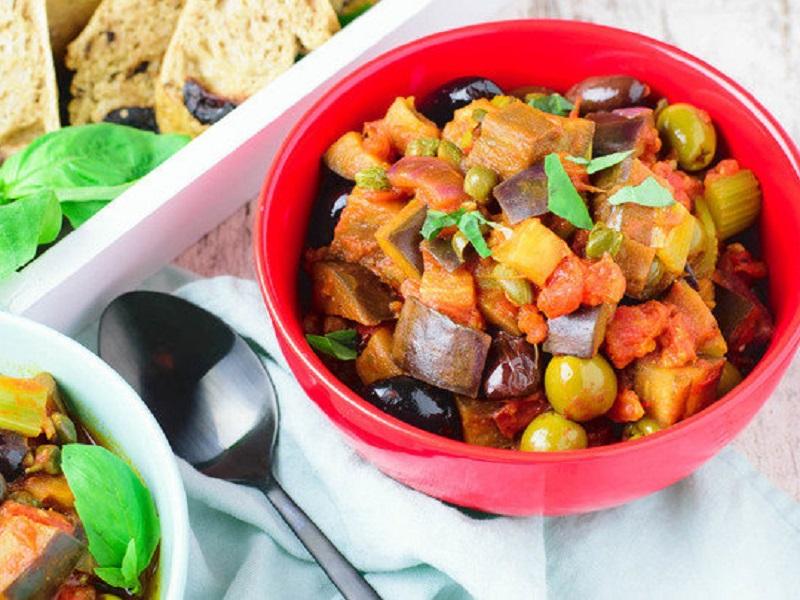 Капоната — сицилийское овощное рагу