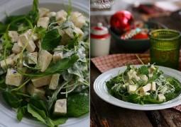 Салат с кольраби и йогуртом