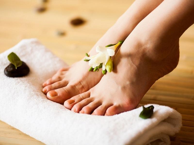 Аюрведический уход за кожей ног