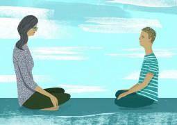Медитация – лучший способ сбалансировать Вату